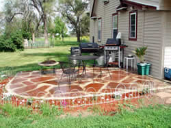 #A Better Way Construction built this patio